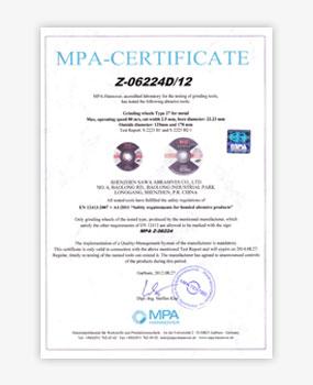 - Sertifikasi MPA 1