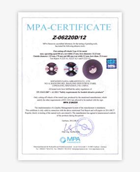 - Sertifikasi MPA 2